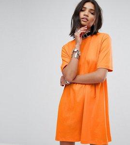 Read more about Rokoko smock t-shirt dress - orange