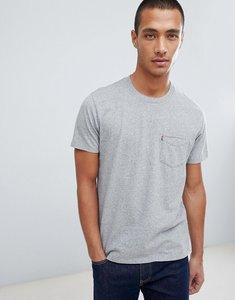 Read more about Levis sunset pocket t-shirt grey heather - medium grey heather