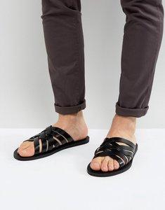 Read more about Aldo badino weave strap sandals - black