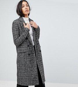 Read more about Vero moda tall check tailored coat - black