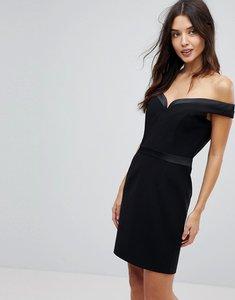 Read more about Forever unique mini bardot dress - balck