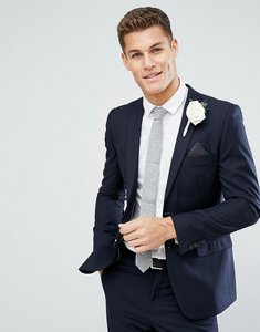 Read more about French connection skinny wedding suit jacket in navy - navy