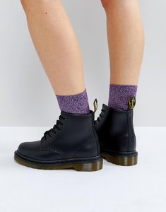 Read more about Dr martens 101 6 eye boots - black polished smoot