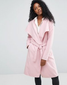 Read more about Jdy long trench coat - pink