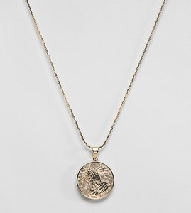 katie mullally rose gold 3p irish coin charm pendant