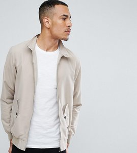 Read more about Brave soul tall summer lined harrington jacket - stone