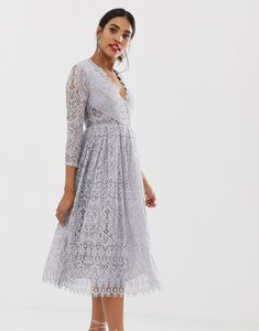 2af1c84c8ea asos lace crop top midi prom dress baby - Shop asos lace crop top ...
