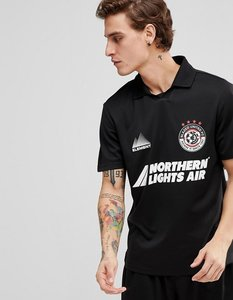 Read more about Element retro football t-shirt in black - black