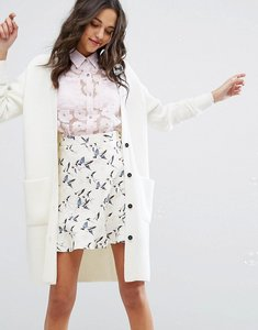 Read more about Paul joe sister chunky cardigan - white
