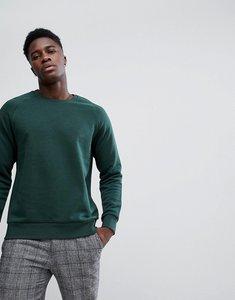 Read more about Weekday paris sweatshirt dark green melange - dark green