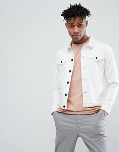 Read more about Only sons white denim jacket - white