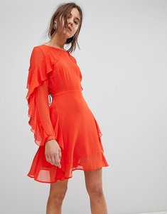 Read more about Glamorous frill dress - bright orange
