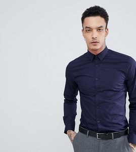 Read more about Noak skinny smart shirt - navy