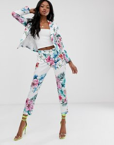 Read more about Morgan cigarette trouser in floral print