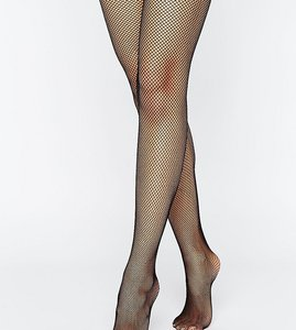 Read more about Asos 2 pack fishnet tights - black