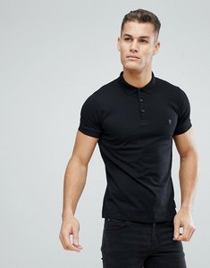 Read more about French connection plain polo shirt - black