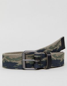 Read more about Jack jones canvas belt in camo - total eclipse