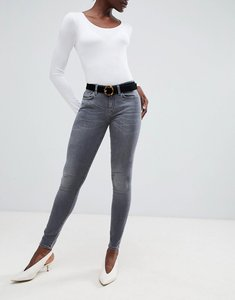 Read more about Selected elena skinny jeans - worn grey