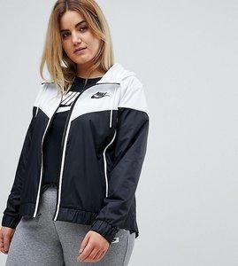 Read more about Nike plus colour block windbreaker jacket - multi