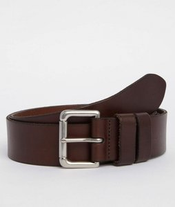 Read more about Polo ralph lauren patch logo leather belt - brown