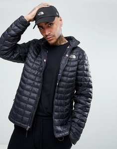 Read more about The north face international limited capsule thermoball puffer jacket in black with flag lining - bl