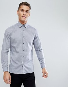 Read more about French connection oxford weave slim fit shirt - navy