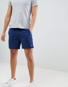 Read more about Polo ralph lauren prepster drawstring chino shorts in navy - newport navy