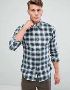 Read more about Polo ralph lauren check shirt oxford slim fit pocket in white - smoke green