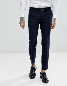Read more about Harry brown navy basket weave slim fit suit trousers - navy