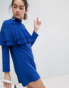 Read more about Rage double frill layer dress - blue