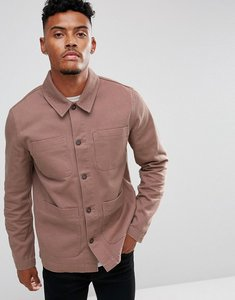Read more about Asos worker jacket in washed pink - pink