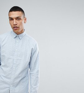 Read more about Selected homme slim fit oxford shirt in dot print - bellair