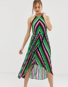 Read more about Ted baker shannah pleated maxi dress in stripe