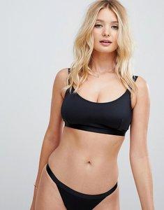 9855bb61c3 Read more about Asos design fuller bust mix and match elastic trim crop  bikini top dd