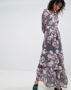 Read more about Ghost long sleeve printed maxi dress - lilia bloom