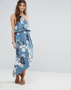 Read more about Somedays lovin festival printed halterneck maxi dress - multi