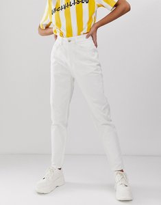 Read more about Uncivilised core mom jeans in off white