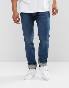 Read more about Levis orange tab 505c slim fit jeans santa wash - blue