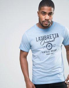 Read more about Lambretta original t-shirt - blue