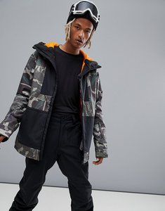 Read more about Billabong fuze overhead snow jacket in camo - camo