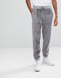 Read more about Asos slim jogger in fleece - grey