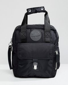 652eaca2603d Read more about Dr martens black small flight backpack - black 15 nylon 820
