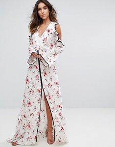 Read more about Foxiedox ella cold shoulder printed dress - ella print