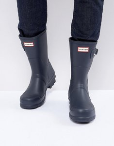 Read more about Hunter original short wellies - blue