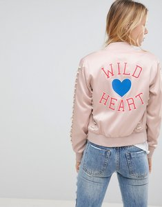Read more about Glamorous bomber jacket - blush