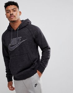 Read more about Nike legacy french terry pullover hoodie in black 863668-032 - black