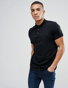Read more about Asos jersey polo - black
