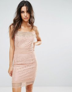 Read more about Ax paris lace midi dress - pink