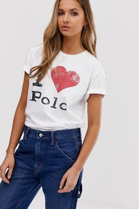 Read more about Polo ralph lauren i heart polo tee