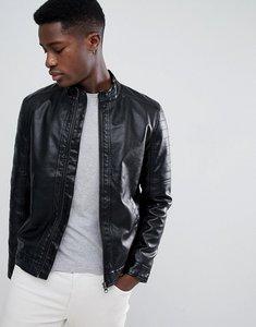 Read more about Esprit faux leather biker jacket - 001 black